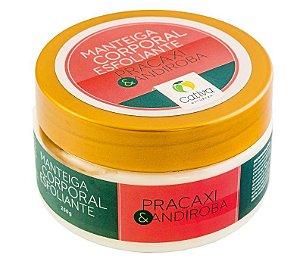 Cativa Natureza Pracaxi e Andiroba Manteiga Corporal Esfoliante 250g