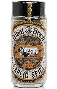 Tribal Brasil Garlic Spice Condimento Misto Orgânico 32g