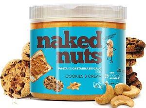 Naked Nuts Pasta de Castanha de Caju com Cookies e Cream