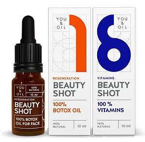 You & Oil KIT Beauty Shot Séruns Faciais N1 Botox Vegetal + N6 Vitamínico