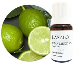Óleo Essencial de Lima Mexicana (Destilada) 10ml - Laszlo