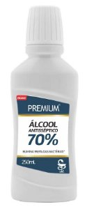 Suavetex Premium Álcool Antisséptico Líquido 70% 250ml