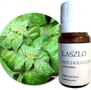 Laszlo Óleo Essencial de Patchouli Light GT Indonésia 10,1ml