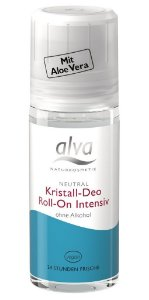 Desodorante Roll-on Crystal Deo Intensive Orgânico 50ml - Alva