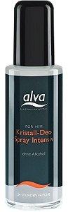 Desodorante Spray Crystal Intensive For Him 75ml - Alva