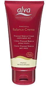 Creme Facial Orgânico Balance Rhassoul com Tea Tree, Jojoba e Aloe Vera 75ml - Alva