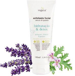Vegana Esfoliante Facial Hidratação & Detox 100ml