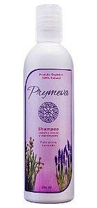 Shampoo Palmarosa e Lavanda - Cabelos Secos e Danificados 250ml - Prymeva