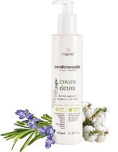 Vegana Condicionador Antioleosidade Couro Detox 200ml