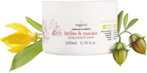 Vegana Máscara Capilar Brilho & Maciez 200ml