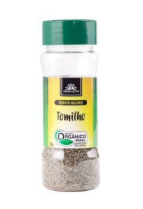 Kampo de Ervas Tomilho Condimento Puro Orgânico