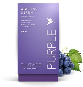 Puravida Ageless Serum Facial Purple 30ml