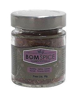 Bom Spice Fit Mix de Temperos Naturais 30g