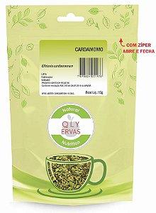 QLY Ervas Chá de Cardamomo Fracionado 15g