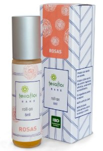 Terra Flor Roll-on Rosas - Perfume Natural 8ml