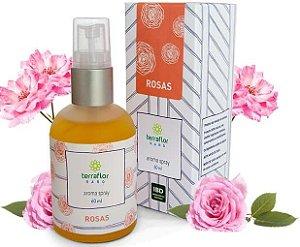 Terra Flor Aroma Spray Rosas - Perfume Natural 60ml