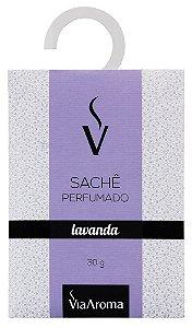 Sachê Perfumado Lavanda 30g - Via Aroma