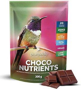 Puravida Choco Nutrients - Achocolatado em Pó Multivitaminado 300g