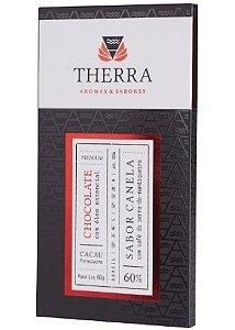Therra Chocolate Gourmet 60% Sabor Canela com Café 80g