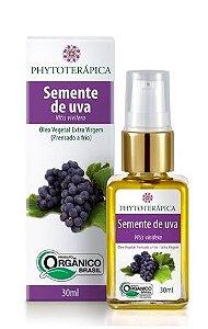 Phytoterápica Óleo de Semente de Uva Orgânico 30ml