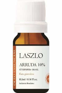 Laszlo Óleo Essencial de Arruda Diluído 10% 10,1ml