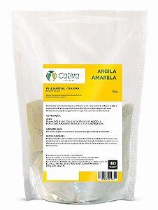 Argila Amarela - Pele Sensível 700g - Cativa Natureza