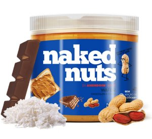 Naked Nuts Pasta de Amendoim Sabor Wafer de Chocolate e Coco