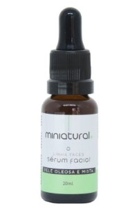 Miniatural Sérum Facial Pele Oleosa e Mista 20ml