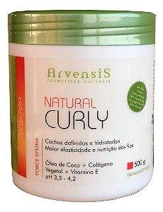 Arvensis Natural Curly Cabelos Cacheados Máscara Capilar 500g