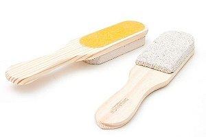 Lixa para Pés com Pedra Pomes Star Care - Orgânica