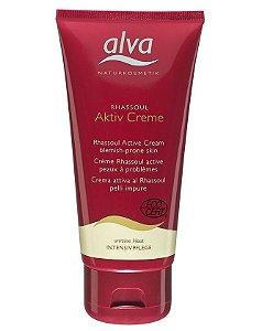 Creme Facial Orgânico Active Rhassoul para Peles Oleosas e Mistas 75ml - Alva