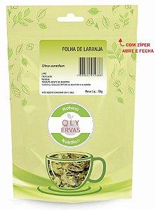 QLY Ervas Chá de Folha de Laranja Fracionado 30g