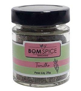 Bom Spice Tomilho Condimento Puro 25g