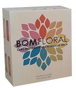 Bom Floral Kit de Chás Mistos - Caixa 48 sachês