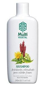 Multi Vegetal Shampoo de Ervas Estimulantes Fortalecimento Capilar 240ml