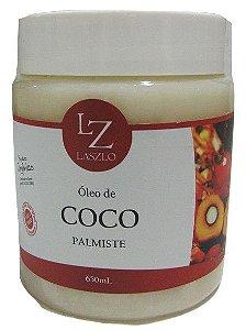 Laszlo Óleo de Coco Palmiste Refinado Pote 650ml