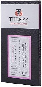 Therra Chocolate Gourmet 50% Sabor Patchouli com Tâmaras Libanesas 80g