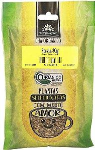 Kampo de Ervas Chá de Stevia Orgânico Fracionado 30g