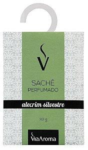 Via Aroma Sachê Perfumado Alecrim Silvestre 30g