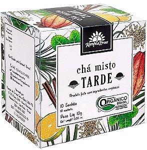 Kampo de Ervas Chá Misto Tarde Orgânico Caixa 10 Sachês