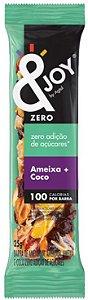 &Joy Barrinha Zero Açúcar Amendoim, Amêndoa, Ameixa e Coco