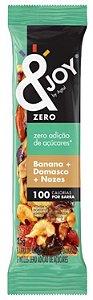 &Joy Barrinha Zero Açúcar Amendoim, Amêndoa, Castanha de Caju, Banana, Damasco e Nozes