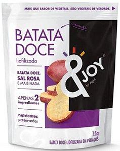 &Joy Snack Liofilizado Batata Doce 15g