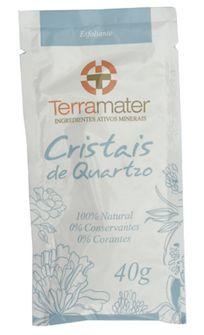 Terramater Cristais de Quartzo Esfoliantes 40g
