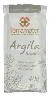 Terramater Argila Branca 40g