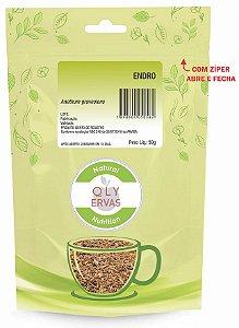 QLY Ervas Chá de Endro Fracionado 50g