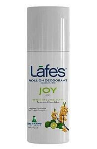 Lafe's Desodorante Roll-on Joy Bergamota e Litsea Cubea 88ml