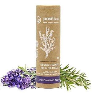 Positiv.a Desodorante em Bastão Lavandin e Melaleuca 50g
