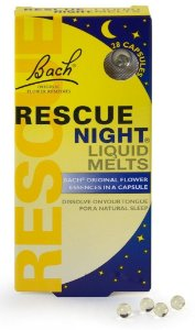 Florais de Bach Rescue Night (Sleep) Liquid Melts 28 Cápsulas