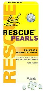 Florais de Bach Rescue Pearls Liquid Melts 28 Cápsulas